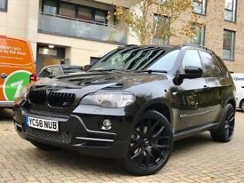 BMW X5 3.0d XDRIVE 58 PLATE BLACK CREAM LEATHER 22 INCH ALLOYS