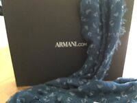 ARMANI LONG SCARF Authentic