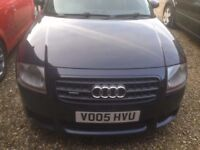 Audi TT 3.2 start & drives well 8month MOT .VERY NIPPY Dark Blue Black look
