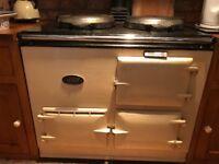 Oil fired aga 2 ovens 2 rings good working order