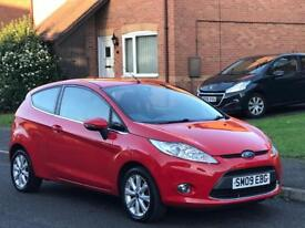 2009 Ford Fiesta 1.25 Zetec..55k miles..s/history..drives great