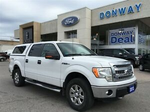 2013 Ford F-150 XLT XTR Super Crew LOW KM!! WARRANTY!