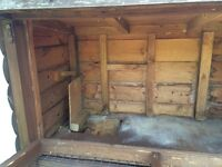 Guinea Pig/ Rabbit Hutch/ Chicken Coup