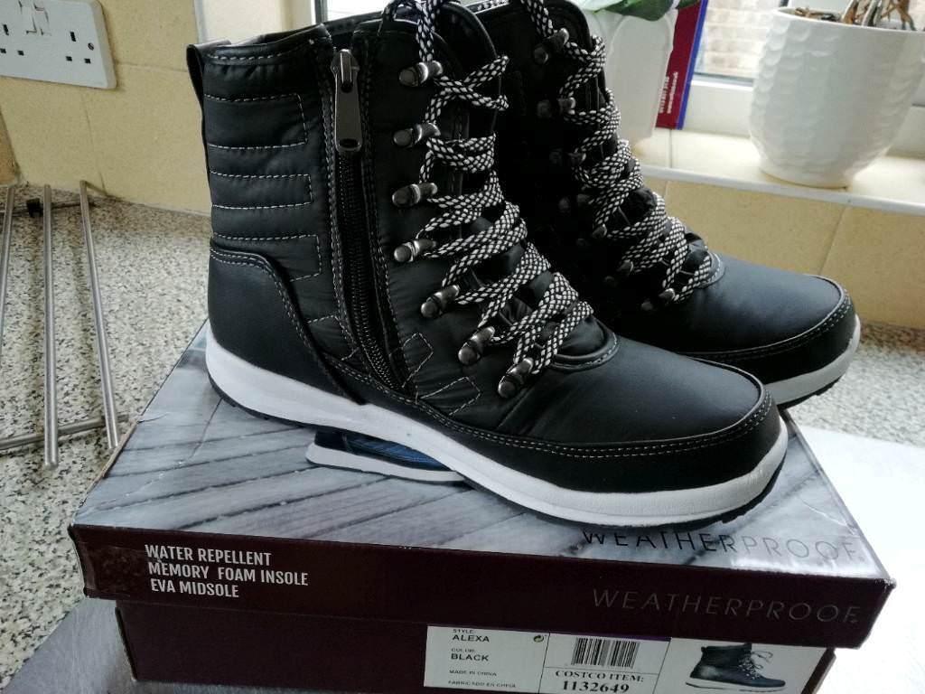57847f314bc Alexa Weatherproof Gel & Memory Foam Black Ankel Boots 5.5 & 6.5 | in St  Neots, Cambridgeshire | Gumtree