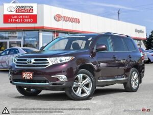 2012 Toyota Highlander V6 Sport Package, One Owner, No Accide...