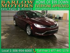 2015 Chrysler 200 Limited | $99 DOWN EVERYONE APPROVED!!!