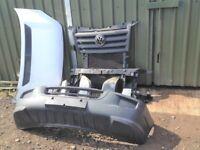 VW CRAFTER 2006-2012 Front END bumper radiators slam panel headlights bonnet