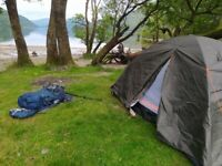 Tent for 2 persons - barely used