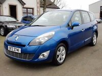 2010 renault grand scenic only 52000 miles 1.4 petrol, motd jan 2018 excellent example