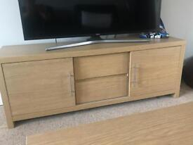 Next opus Oak Large TV Stand