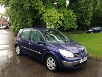 2004 Renault Megane Scenic 2.0 Automatic Petrol Service History 8 Months MOT