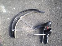 cycle mudguards/ saddles