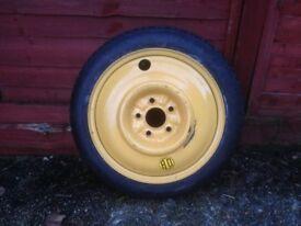 Spare Wheel & Tyre