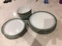 Denby crockery - plates and bowls