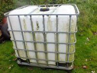 ibc tank ideal for allotments