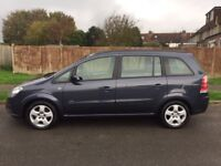 Vauxhall Zafira Club. 1.6. Service history and just been serviced with very low mileage.