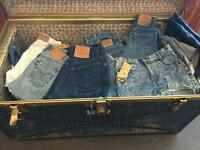Levi Denim cutoffs