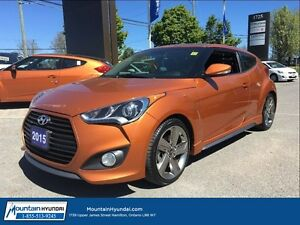 2015 Hyundai Veloster TURBO | MANUAL | NAVIGATION | LEATHER