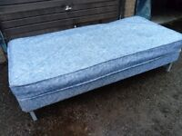 Single bed and mattress good condition