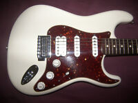 Fender Deluxe LoneStar Stratocaster HSS , Mexico , Mexican , MIM Electric Guitar 2010 + Gig Bag.