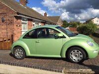 Vw new beetle Y reg 2001