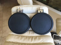 2 Roland PD 8 Dual Trigger Pads for quick sale