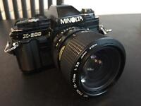 Minolta X-300 with 35-70mm MD lens