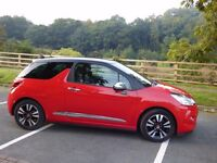 Citroen DS3 1.6 E-HDI Airdream : Rare Soft Leather Bucket Seats : Low Mileage : Superb All Round