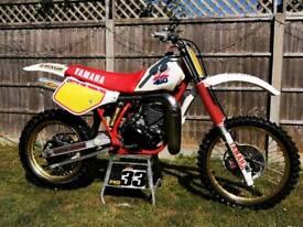 1986 yz 490 restored