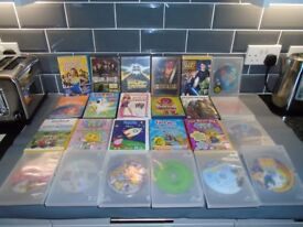 24 ASSORTED CHILDREN,S DVD, MOVIES