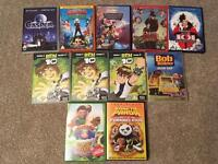 Kids dvds from 50p each