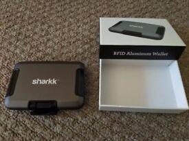 SHARKK Aluminum Wallet Card Holder