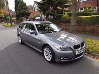 2012 61 BMW 3 Series 2.0 318d Exclusive Touring 5dr - 61k miles, FSH, Leather, Great Condition