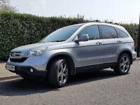 2008 Silver HONDA CR-V 2.2 i-CDTi SE 5dr 58,000miles