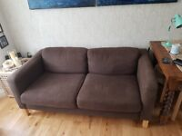 Two seater Ikea sofa