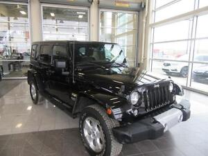 2015 Jeep Wrangler Unlimited Sahara 4X4, REMOVABLE ROOF AND D...