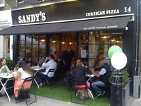 Full time Sous Chef/ Chef de partie required for Corsican Pizza Restaurant, London W1