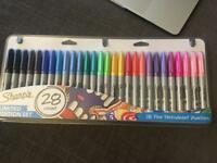 Sharpie pens! Pack of 28