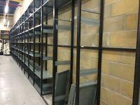 Stockroom racking of various types
