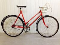 Ladies Road Bikes,Peugeot, Raleigh, Calude Butler, Dawes, Gazelle,Batavus serviced