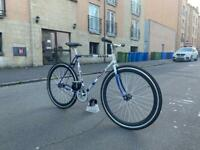 Fixed gear Raleigh conversion - size M