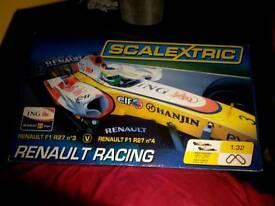 Renault racing scalexric