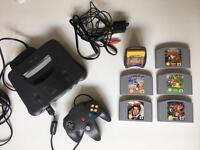 Nintendo 64 + games