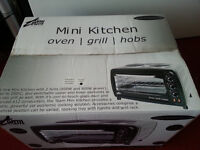 Mini Kitchen Oven Grill hobs