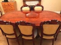 Italian style dining table