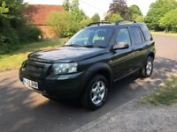 Super 4 x 4 Freelander, 5 door, TD4, good history, great condition, HPI clear, 12M AA cover