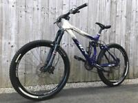 *SOLD* Giant XC Air Lite full Suspension Enduro/Downhill Bike, LIKE NEW, HIGH SPEC, UPGRADED