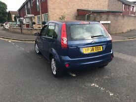 Ford Fiesta 1.6 automatic 2008