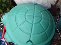 Little tykes tortoise sand pit with lid