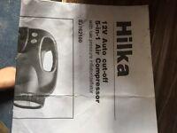 Brand new HILKA air compressor Packaged